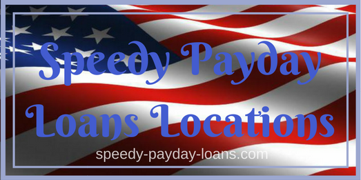 Speedy Payday Loans Locations